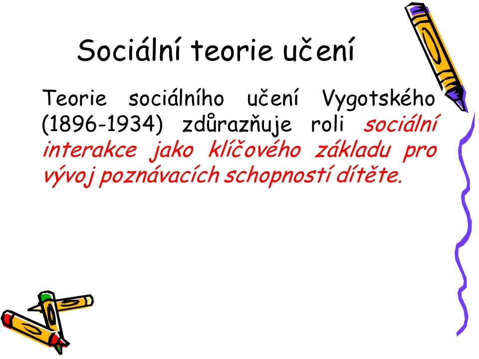 Sociální teorie učení