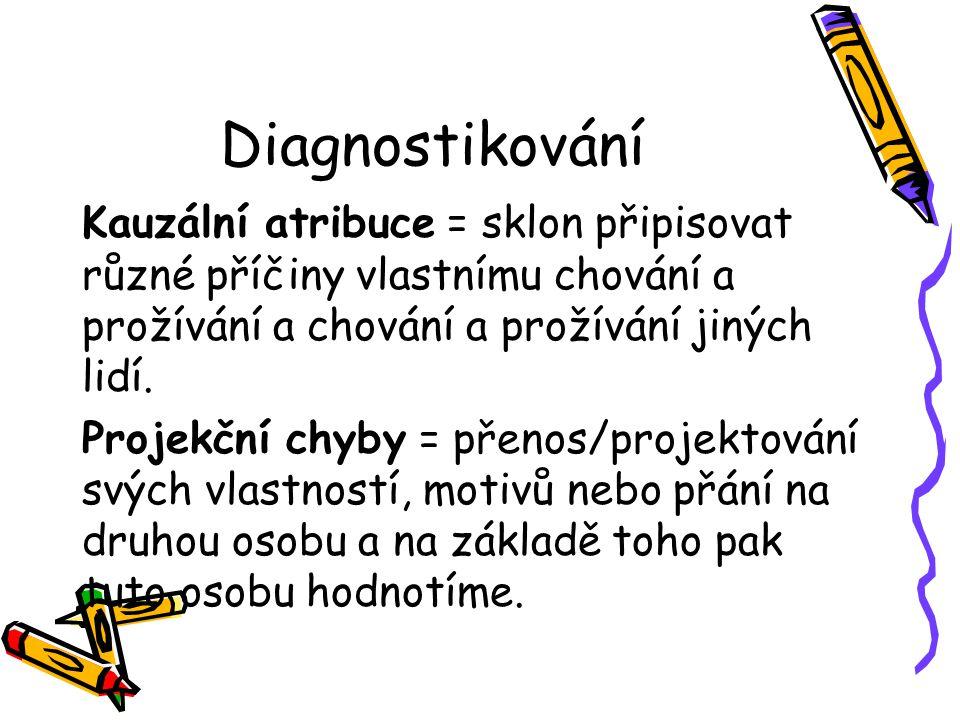 Diagnostikování