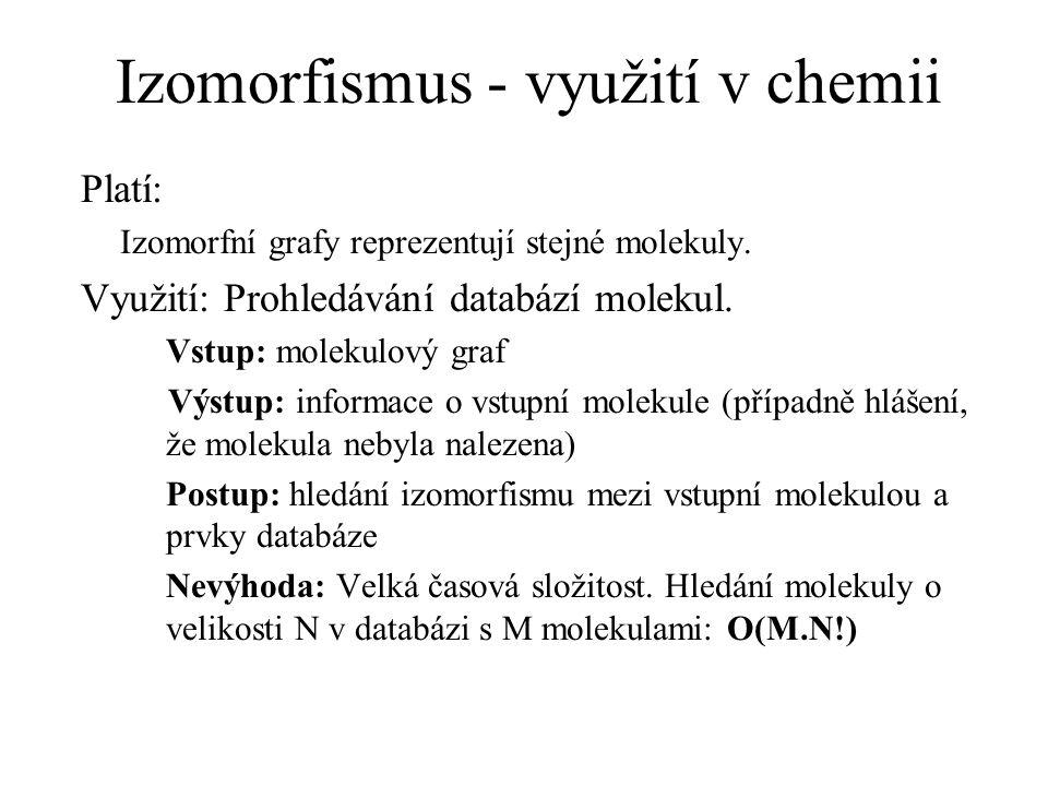 Izomorfismus - využití v chemii