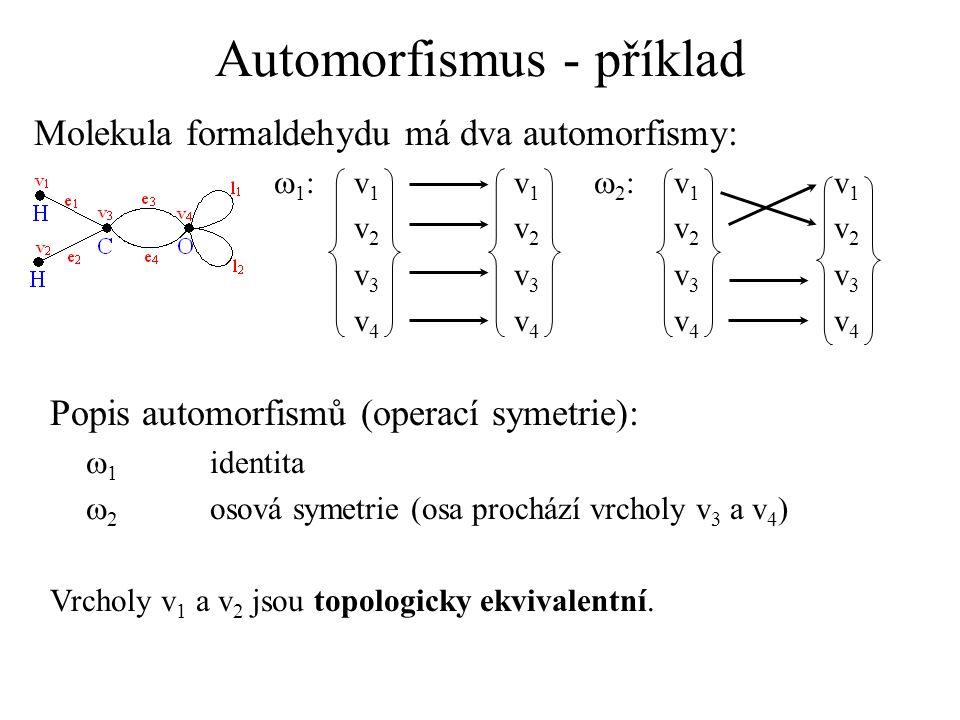 Automorfismus - příklad