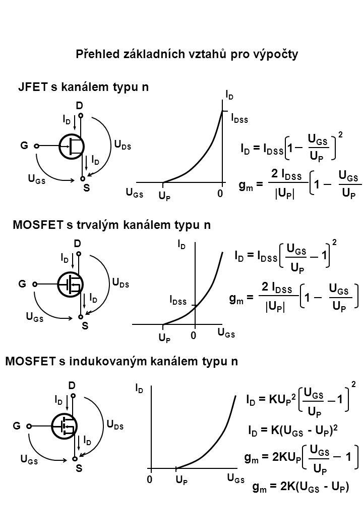 MOSFET s trvalým kanálem typu n