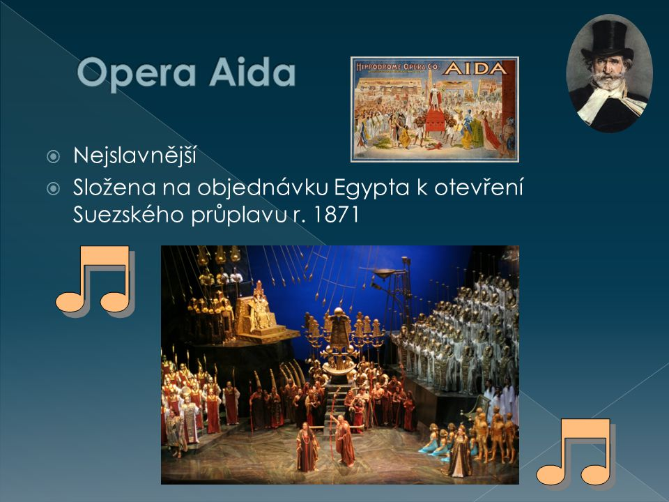 Opera Aida Nejslavnější