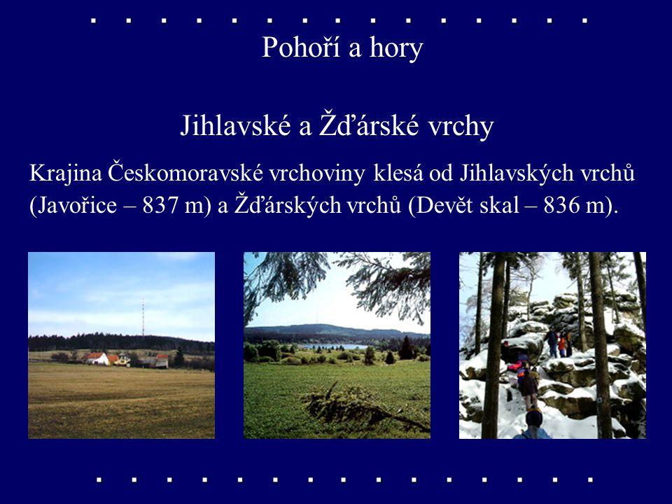 Jihlavské a Žďárské vrchy