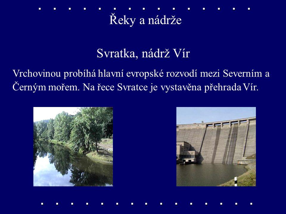 Řeky a nádrže Svratka, nádrž Vír
