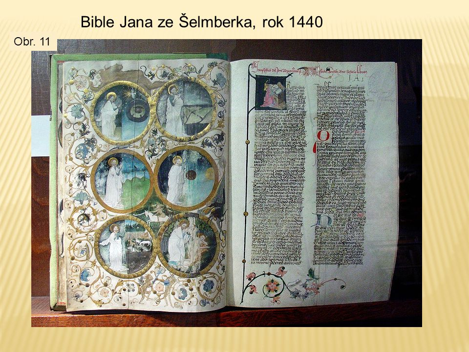 Bible Jana ze Šelmberka, rok 1440