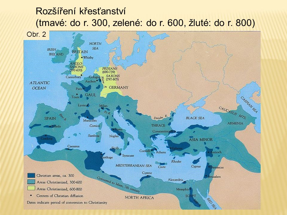 Rozšíření křesťanství