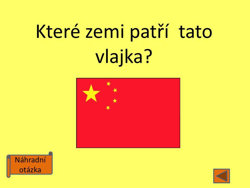 Které zemi patří tato vlajka
