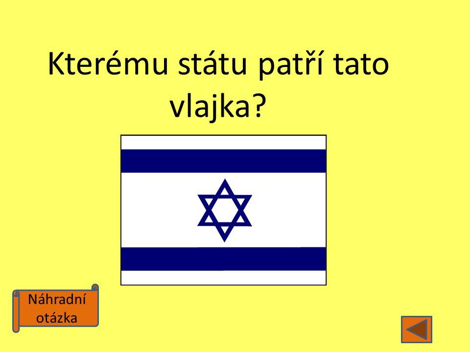 Kterému státu patří tato vlajka