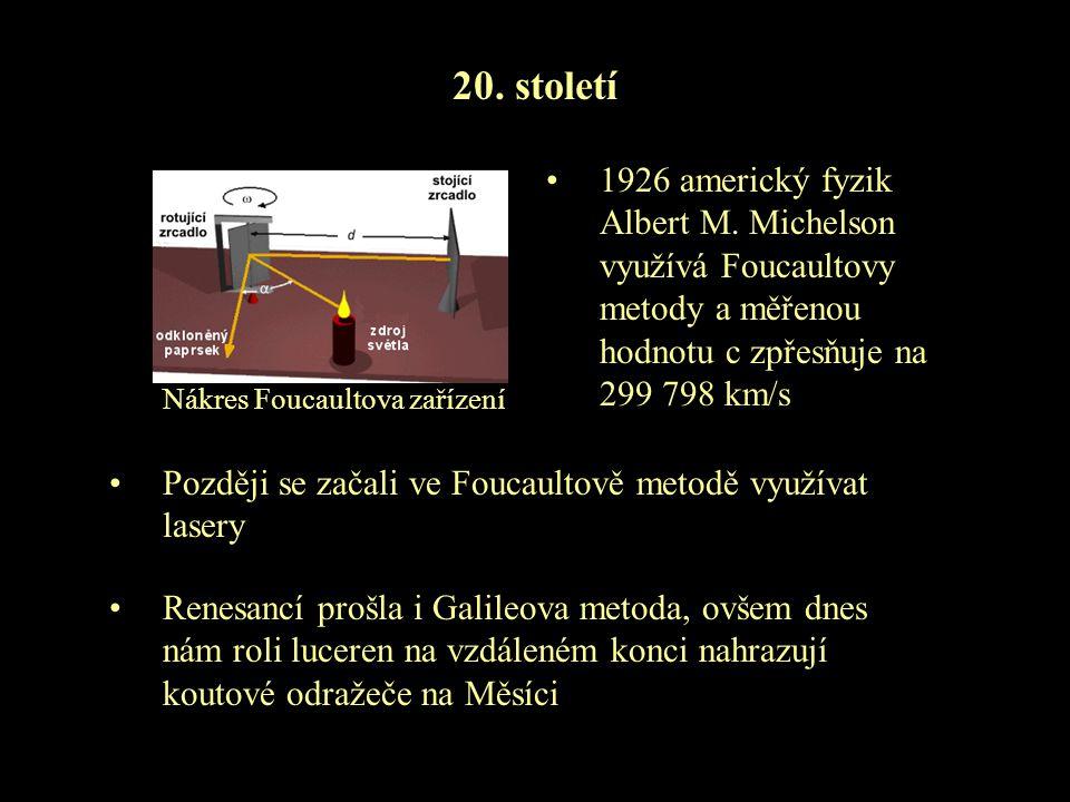 Nákres Foucaultova zařízení