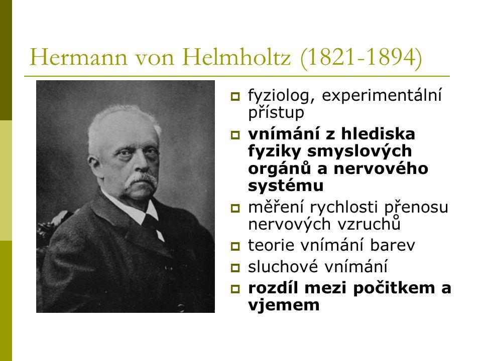 Hermann von Helmholtz (1821-1894)