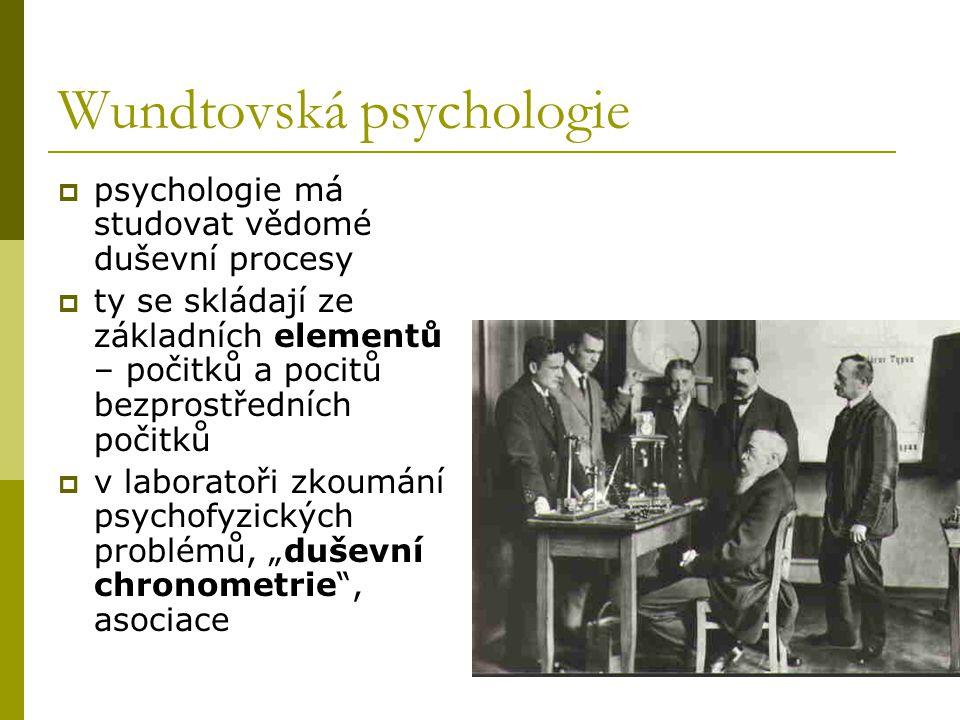 Wundtovská psychologie