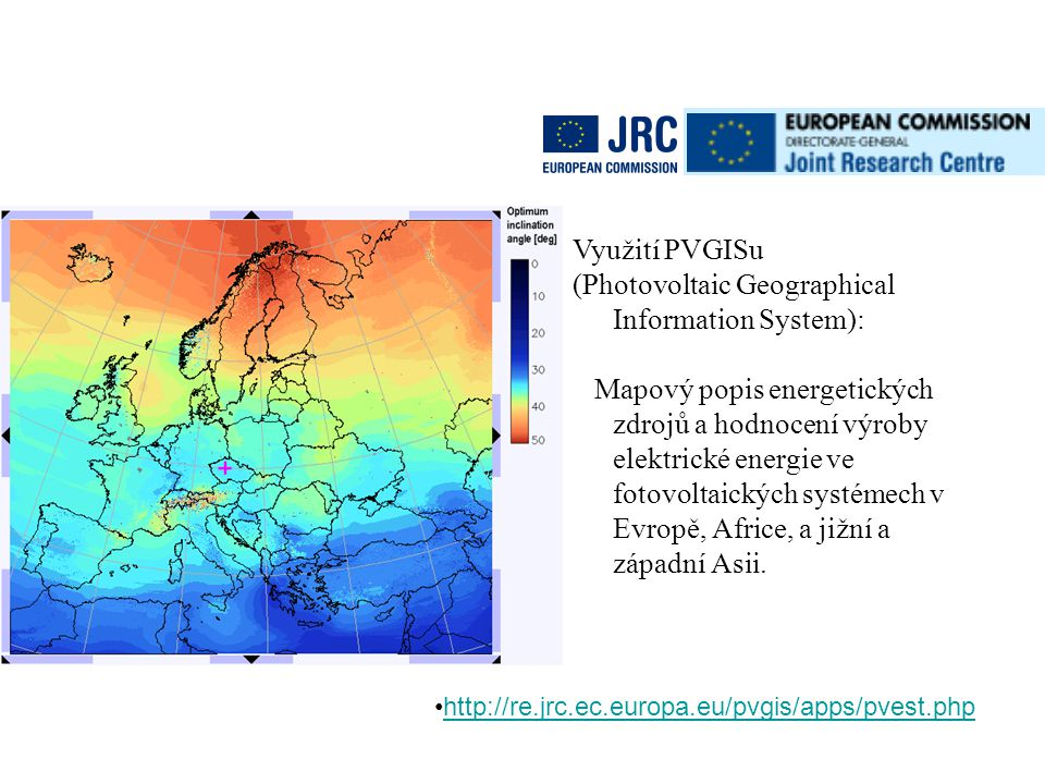 (Photovoltaic Geographical Information System):