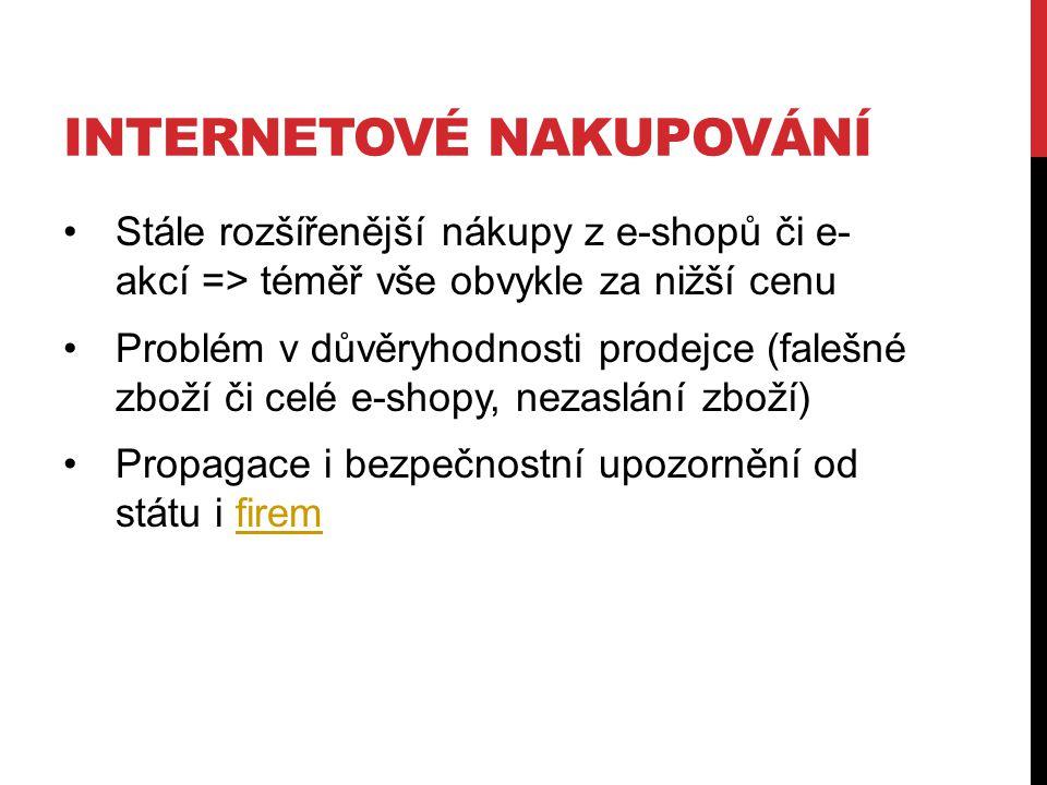 Internetové nakupování