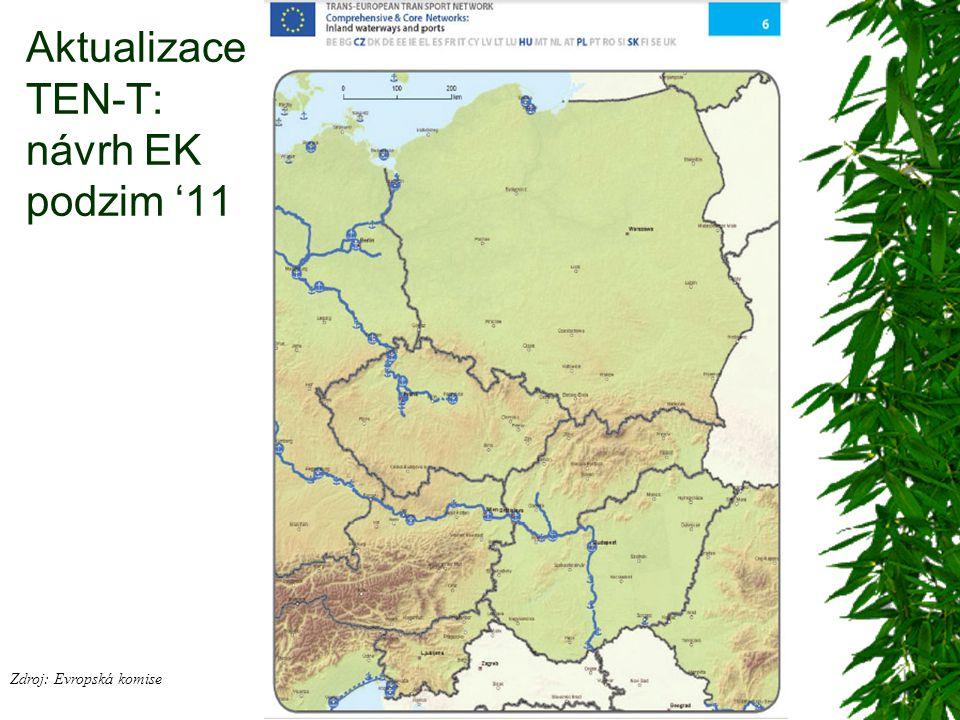 Aktualizace TEN-T: návrh EK podzim '11