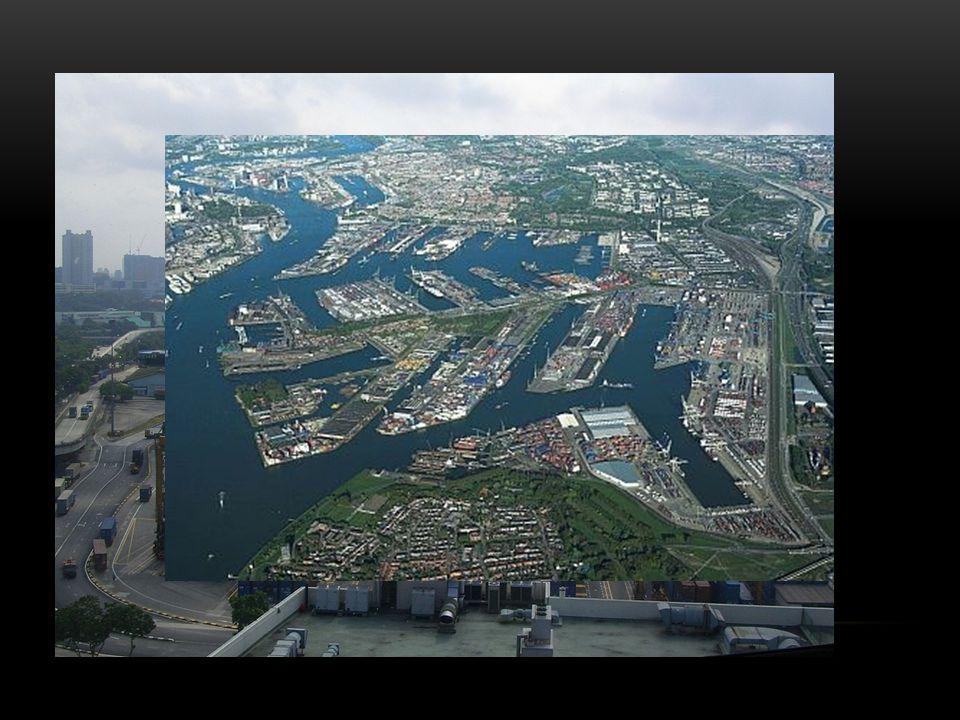 Důležité přístavy (k roku 2009)
