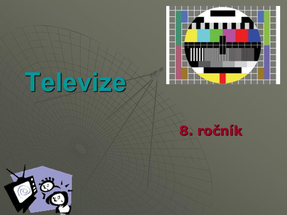 Televize 8. ročník