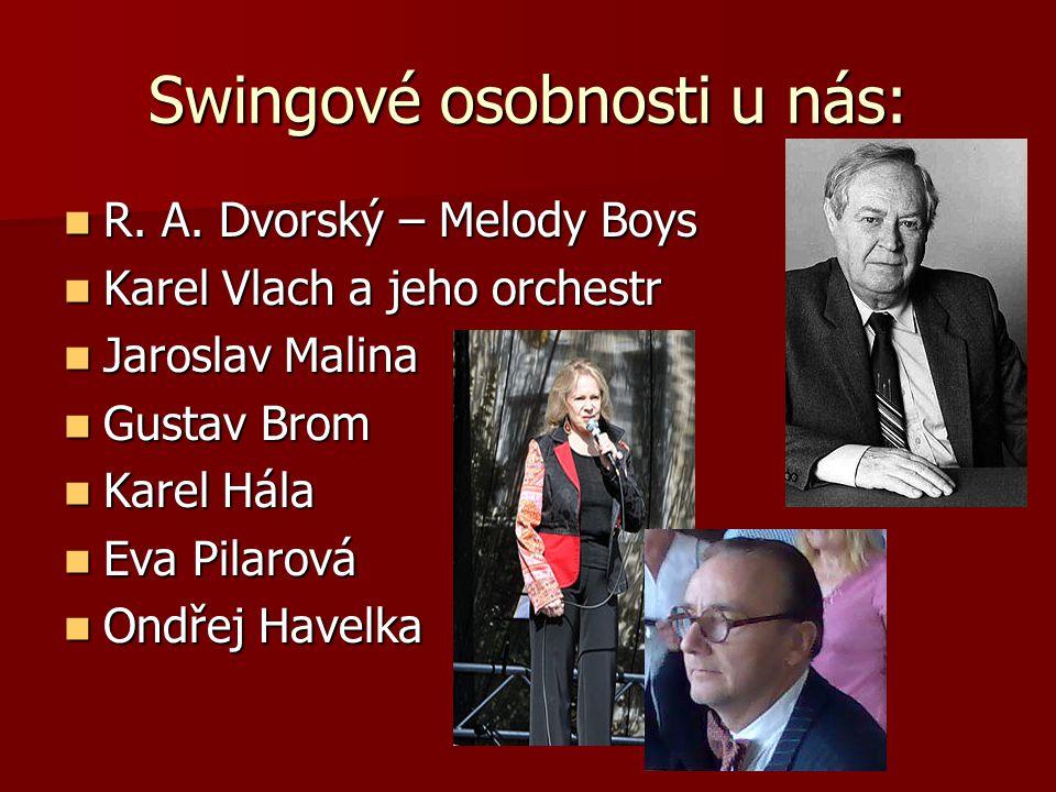 Swingové osobnosti u nás: