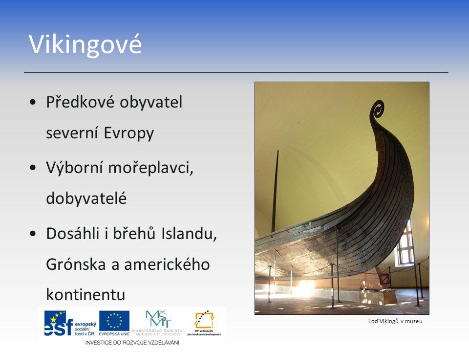 Vikingové Předkové obyvatel severní Evropy