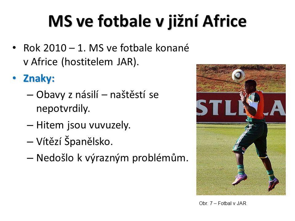MS ve fotbale v jižní Africe