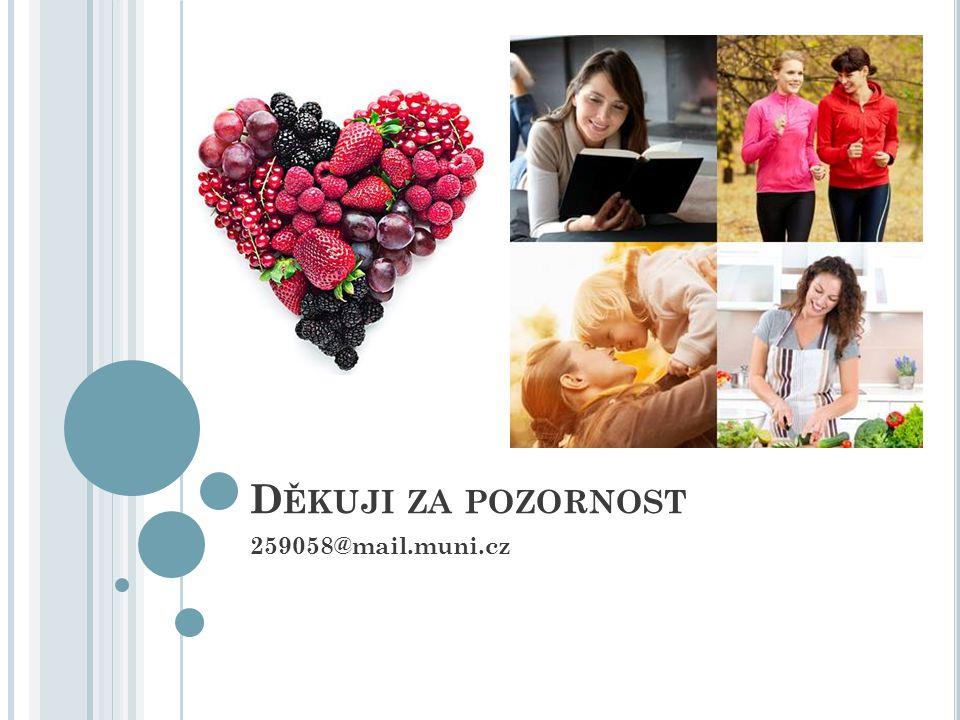 Děkuji za pozornost 259058@mail.muni.cz