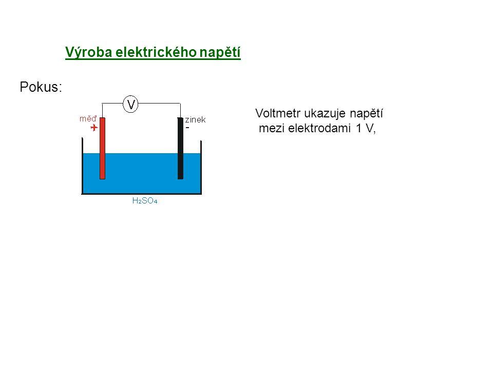 Výroba elektrického napětí