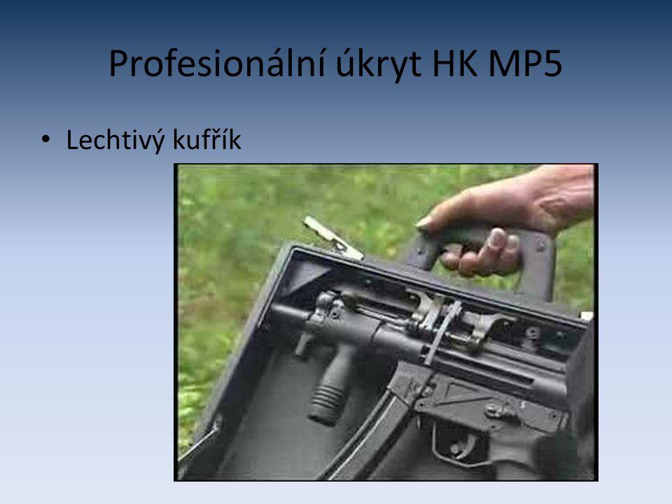 Profesionální úkryt HK MP5