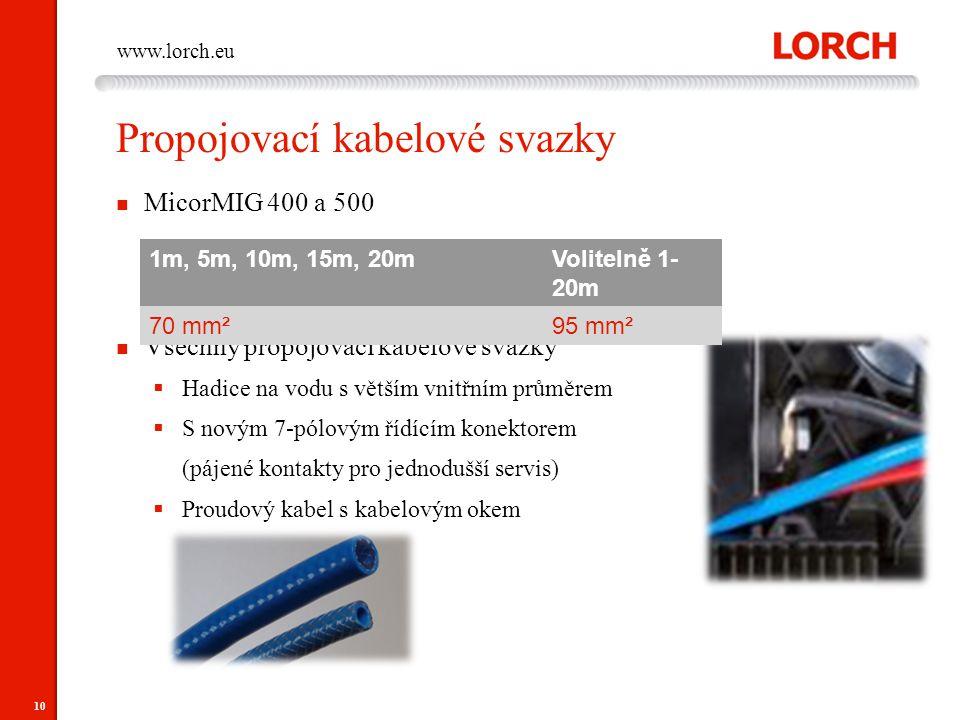 Propojovací kabelové svazky
