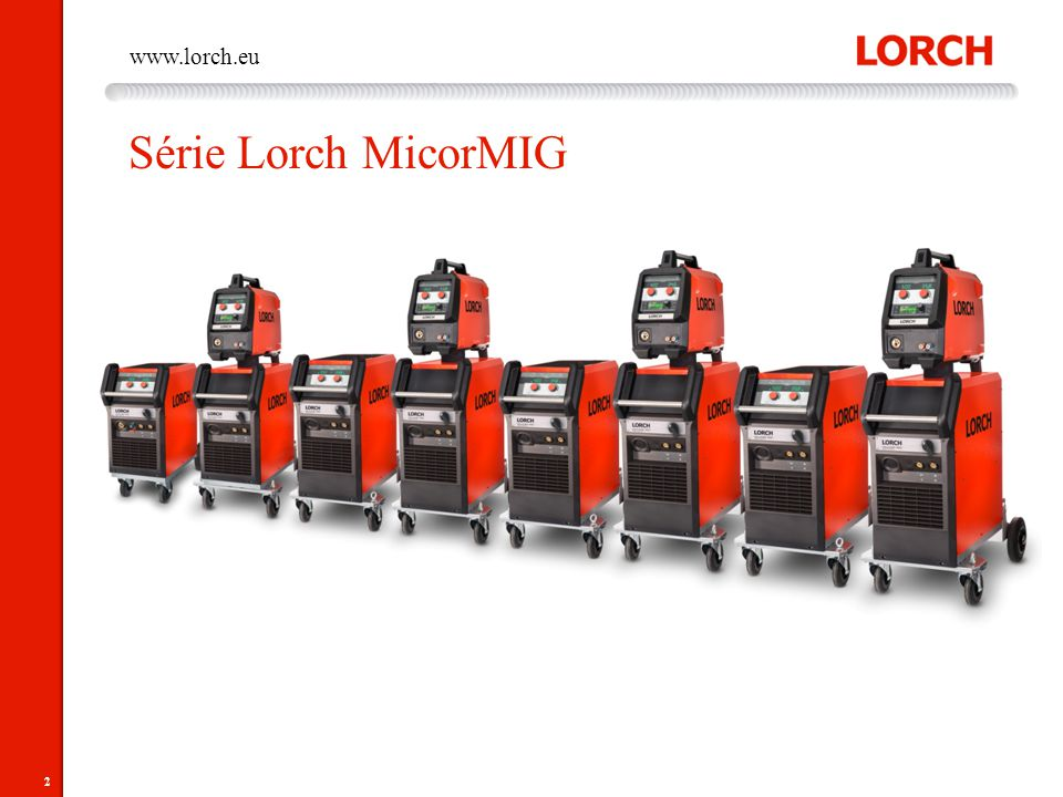 Série Lorch MicorMIG