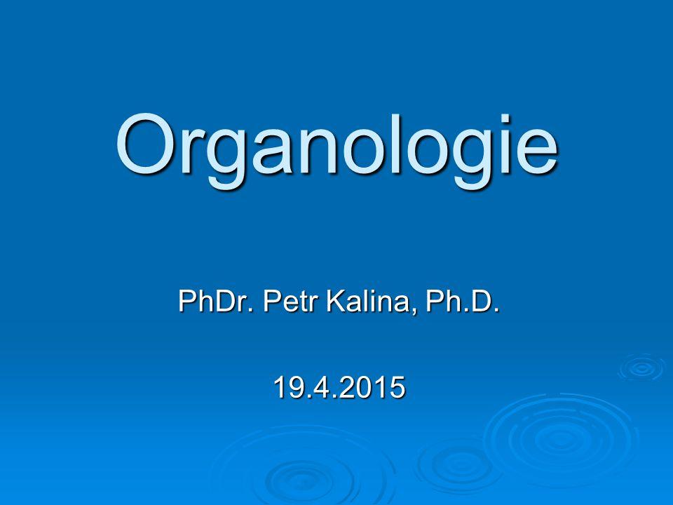Organologie PhDr. Petr Kalina, Ph.D. 13.4.2017