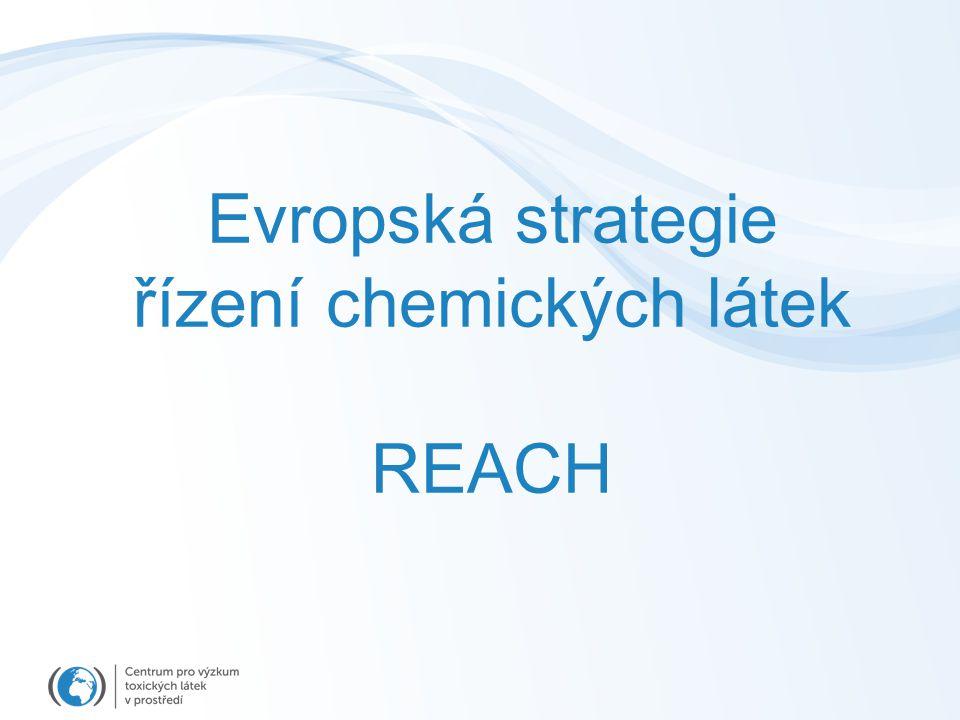 řízení chemických látek