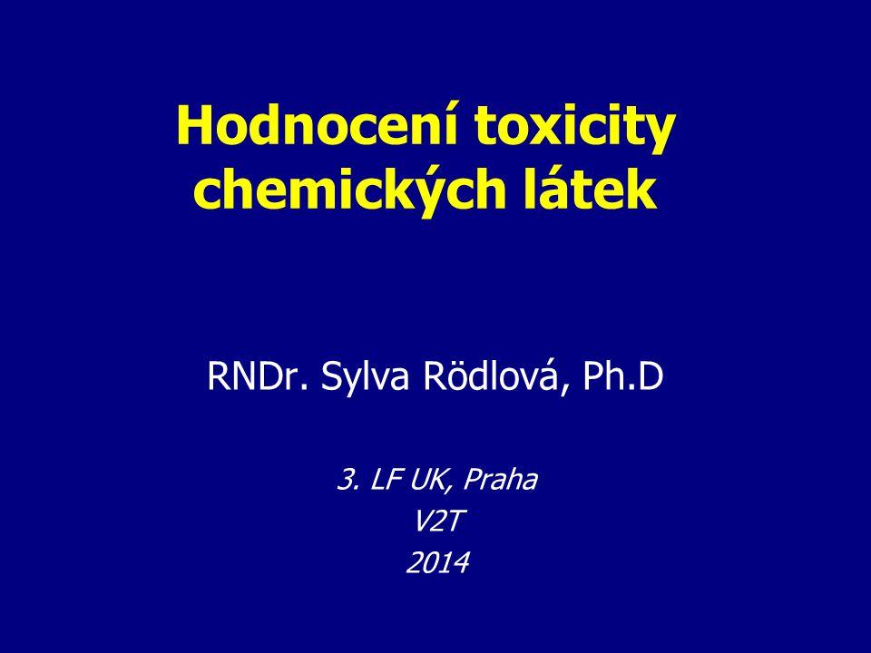 Hodnocení toxicity chemických látek
