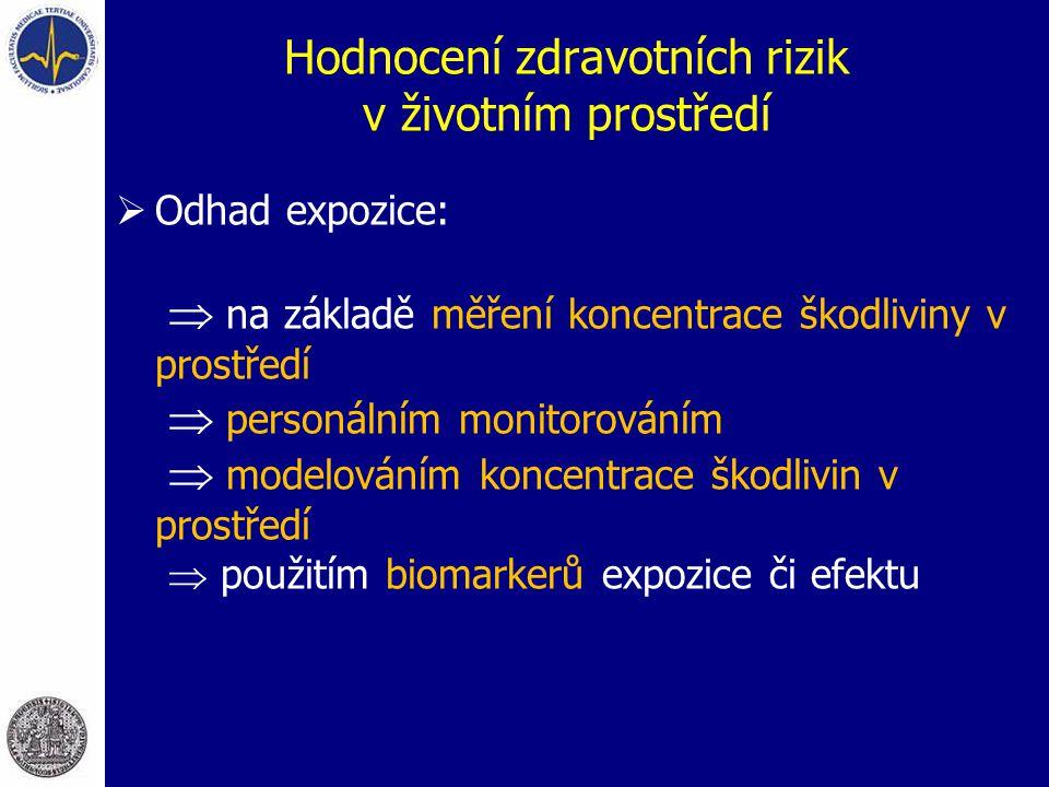 Hodnocení zdravotních rizik v životním prostředí