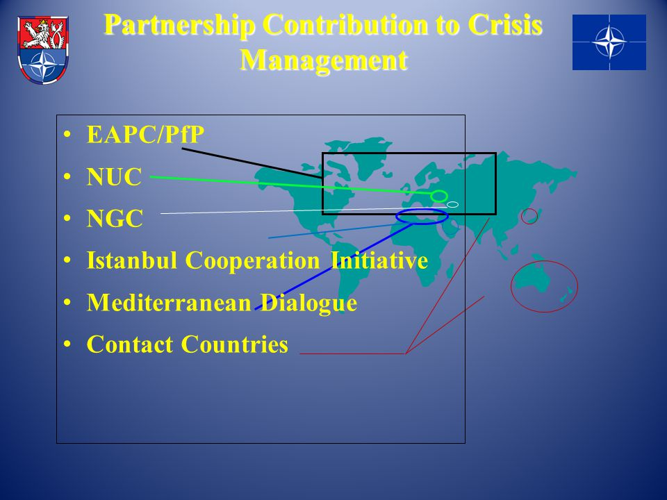 Partnership Contribution to Crisis Management