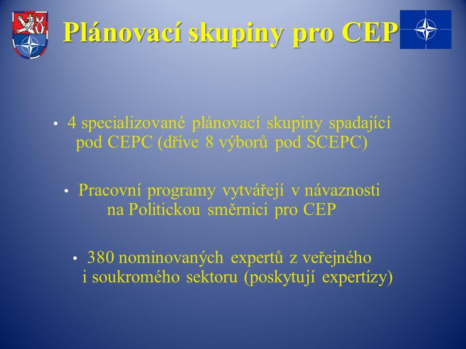 Plánovací skupiny pro CEP