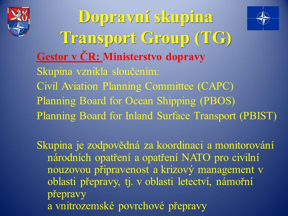 Dopravní skupina Transport Group (TG)