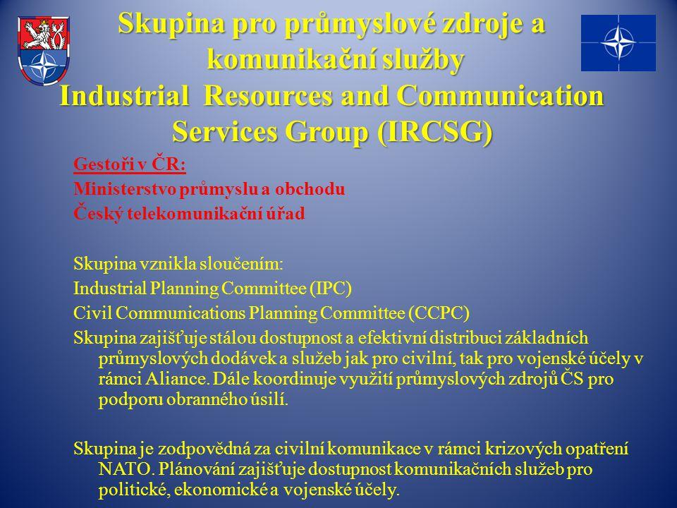 Skupina pro průmyslové zdroje a komunikační služby