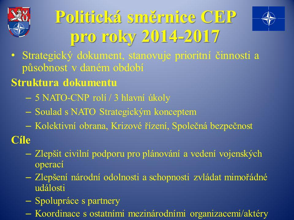 Politická směrnice CEP pro roky 2014-2017