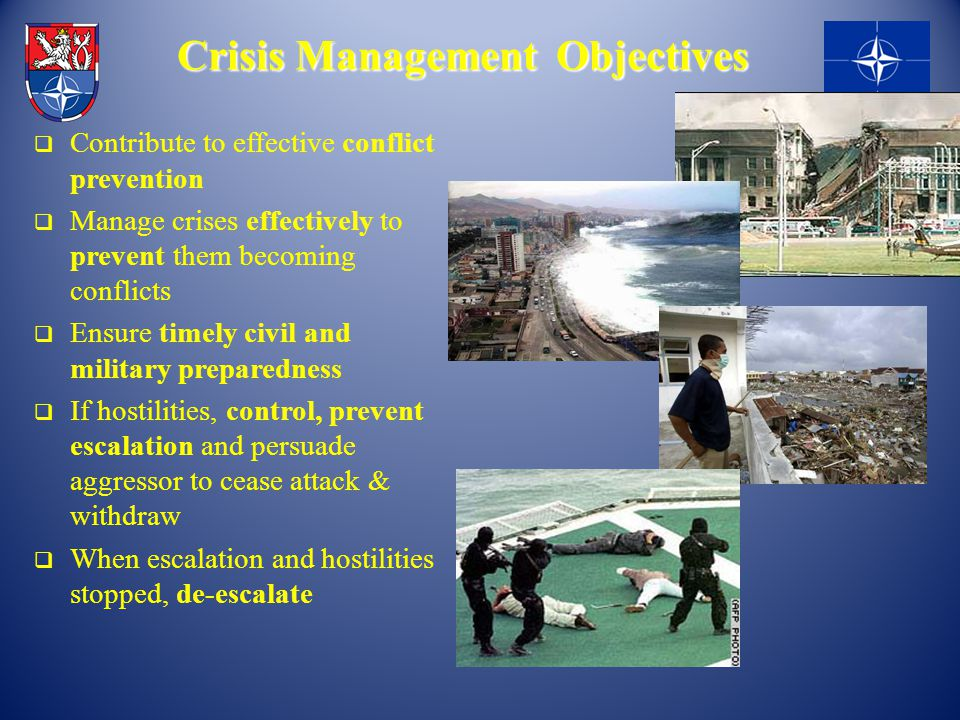 Crisis Management Objectives