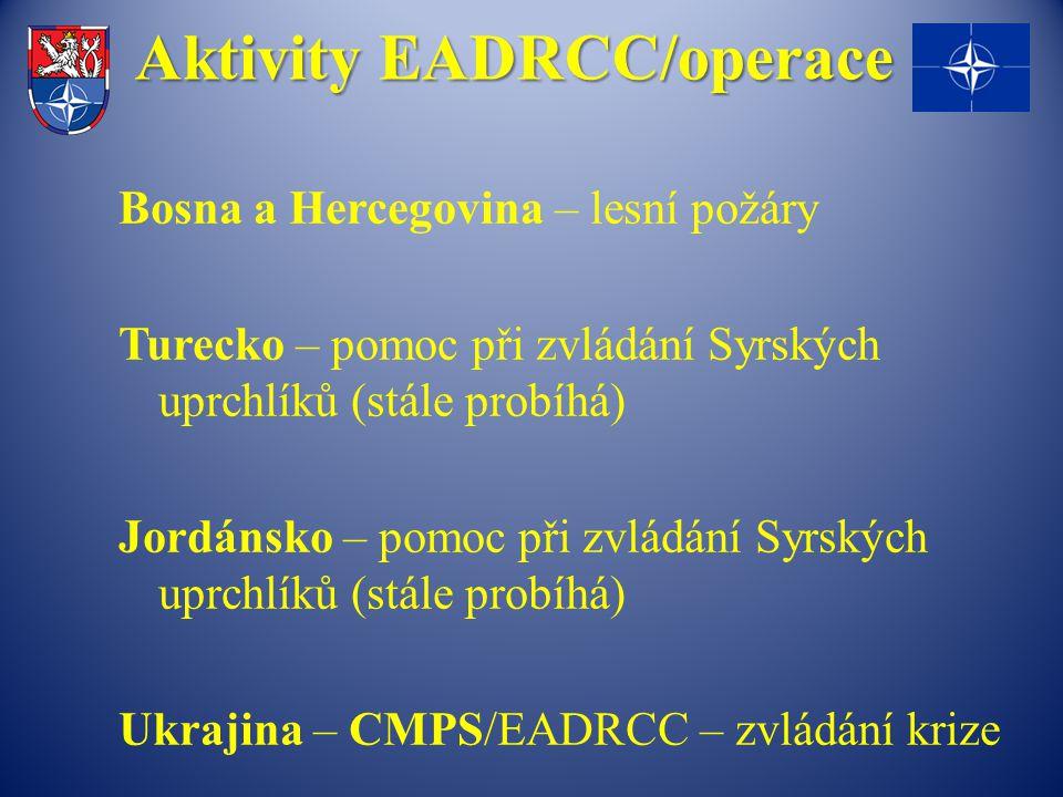 Aktivity EADRCC/operace