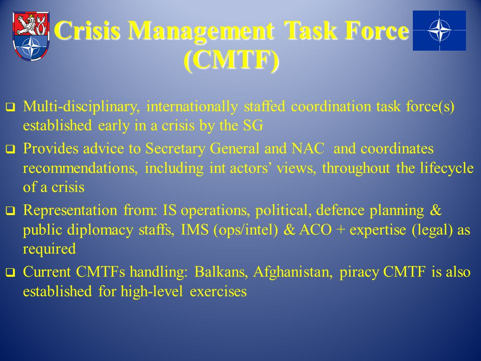 Crisis Management Task Force (CMTF)