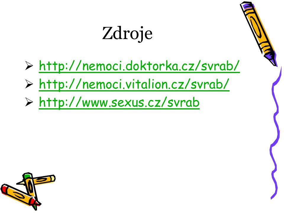Zdroje http://nemoci.doktorka.cz/svrab/
