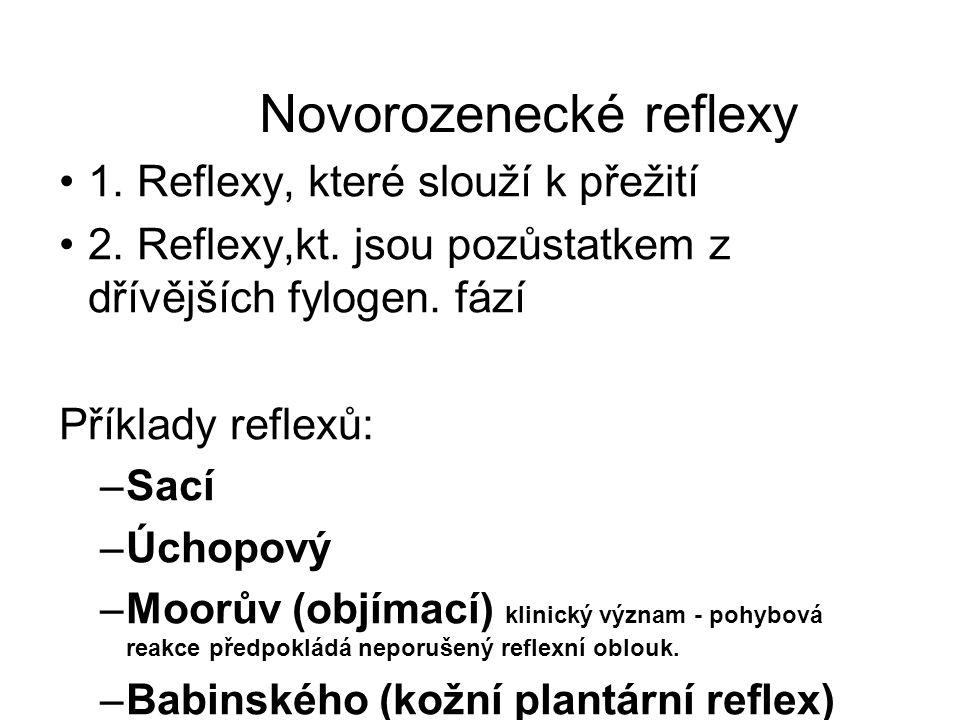 Novorozenecké reflexy