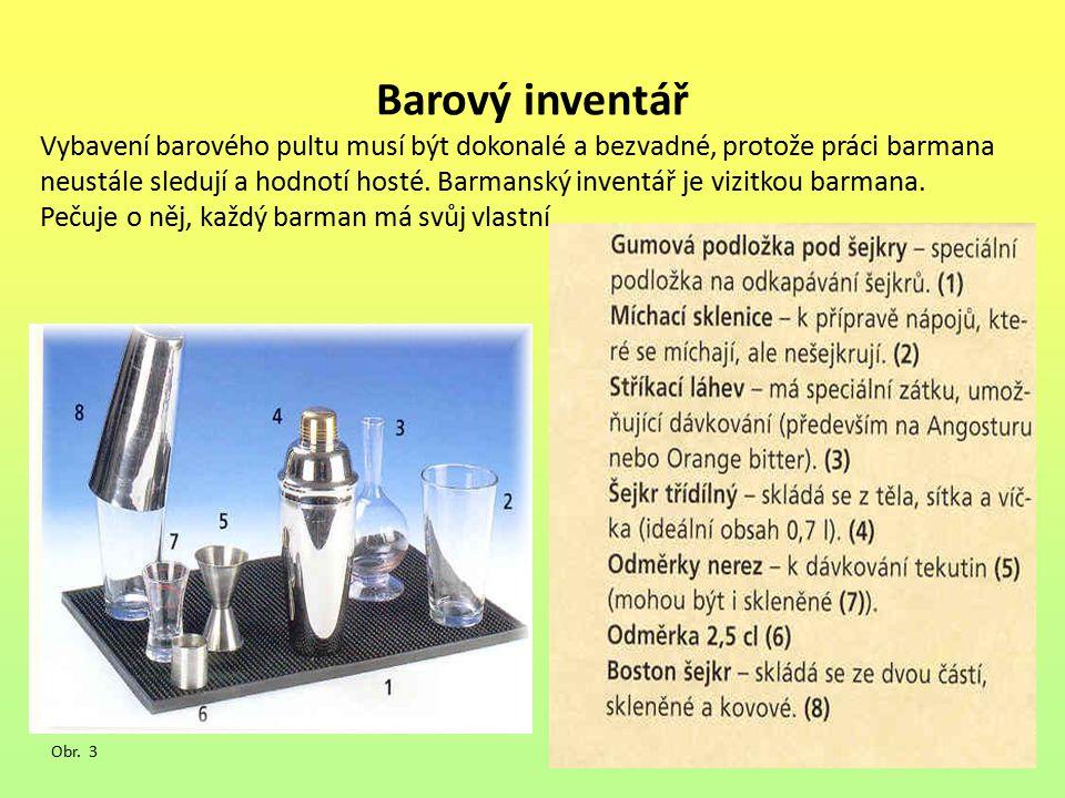 Barový inventář
