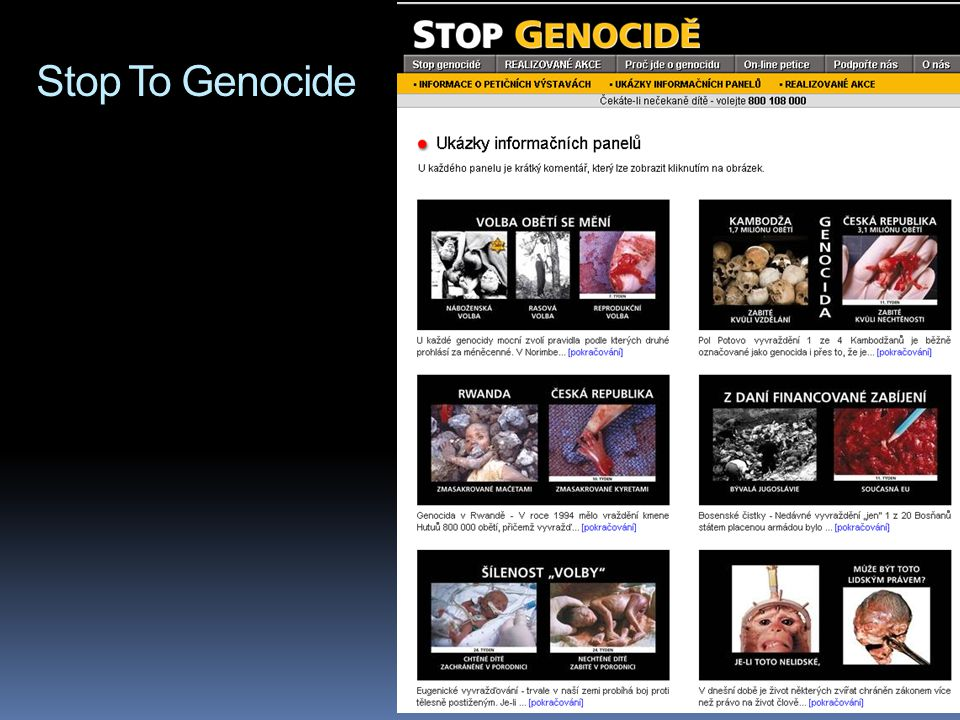 Stop To Genocide