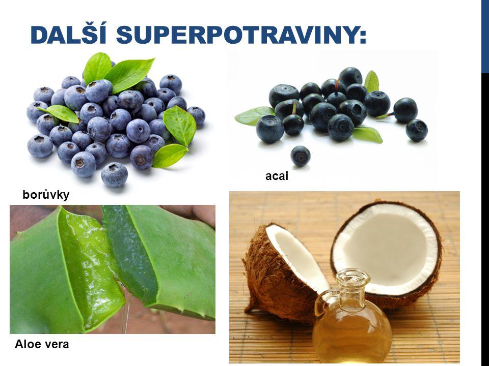 Další superpotraviny: