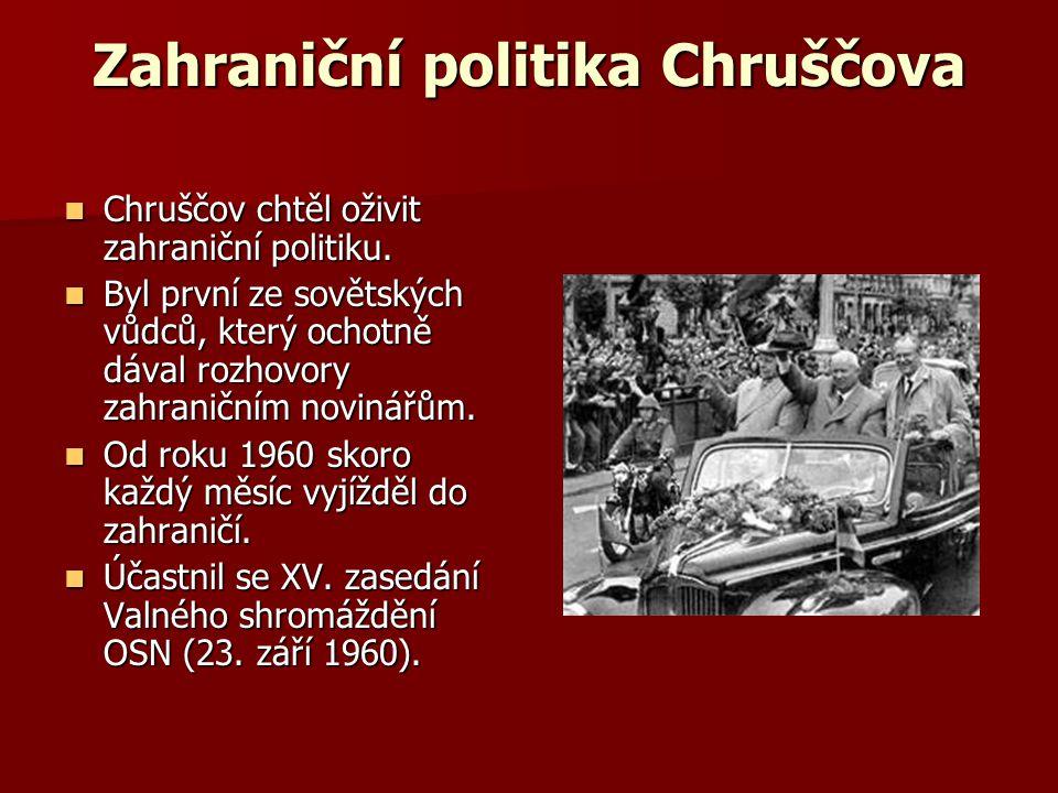Zahraniční politika Chruščova