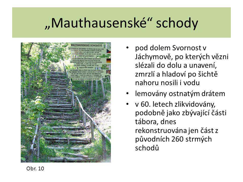 """""""Mauthausenské schody"""