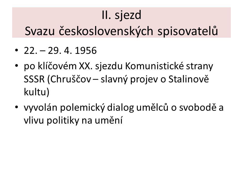 II. sjezd Svazu československých spisovatelů