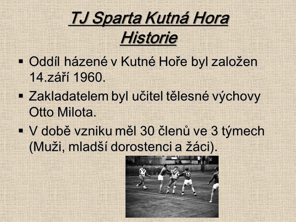 TJ Sparta Kutná Hora Historie