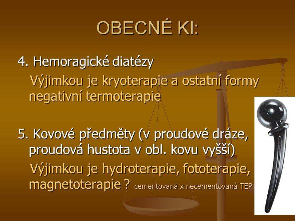 OBECNÉ KI: 4. Hemoragické diatézy